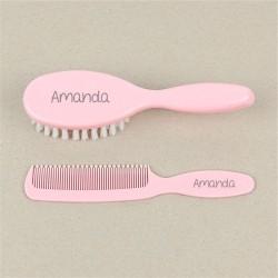 Set cepillo y peine personalizados