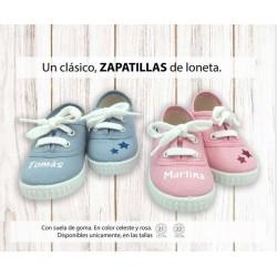 zapatillas lona personalizadas 21 y 22