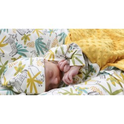 Conjunto primera puesta recién nacido Jungla