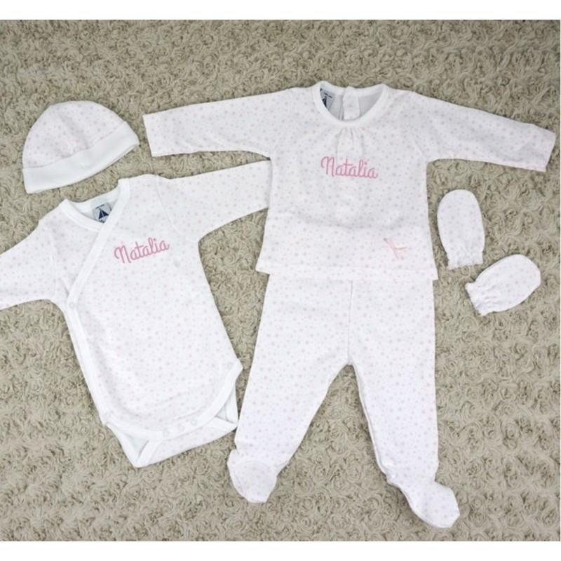 Conjunto primera puesta recién nacido/a