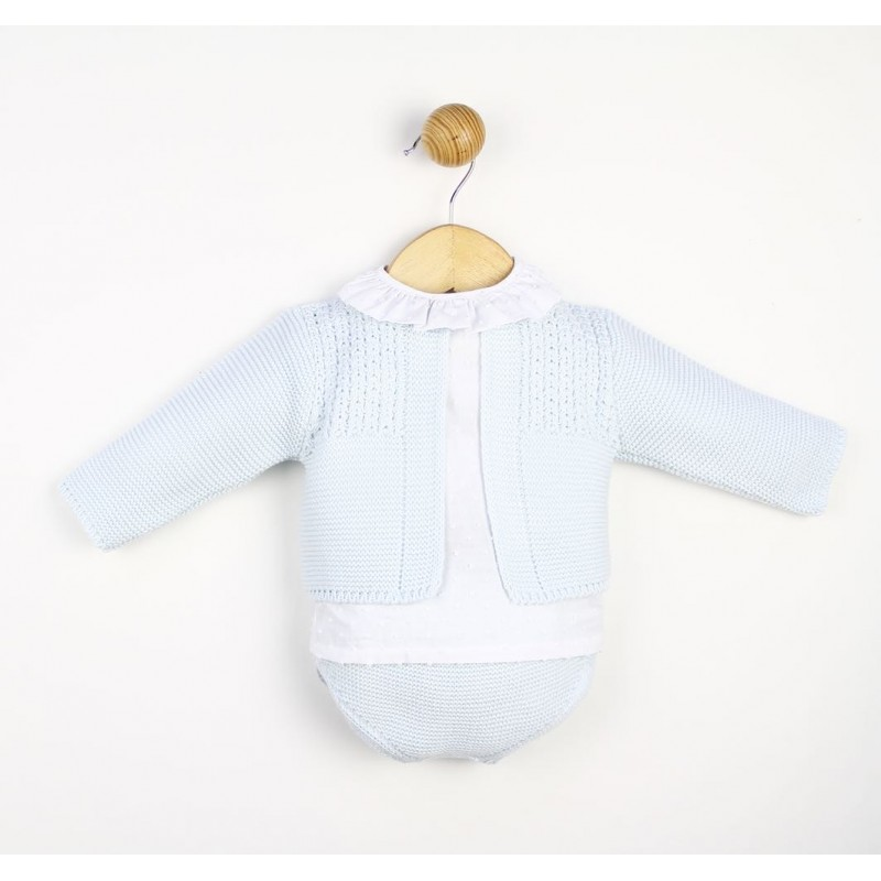 Conjunto bebé lana invierno