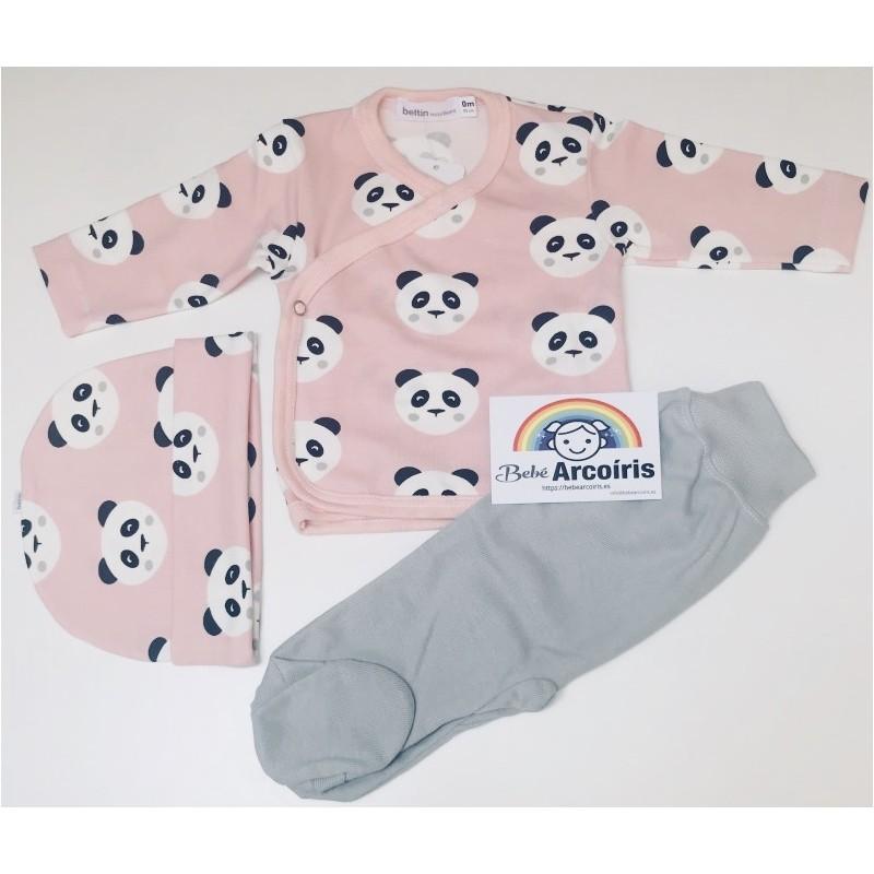 Beltin primera puesta bebé Tomy panda