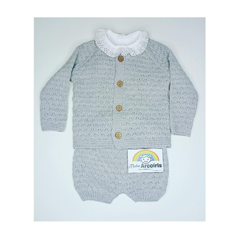 Conjunto bebé lana