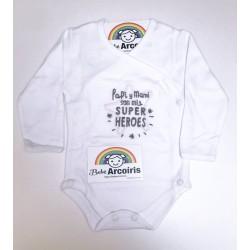 Body cruzado bebe