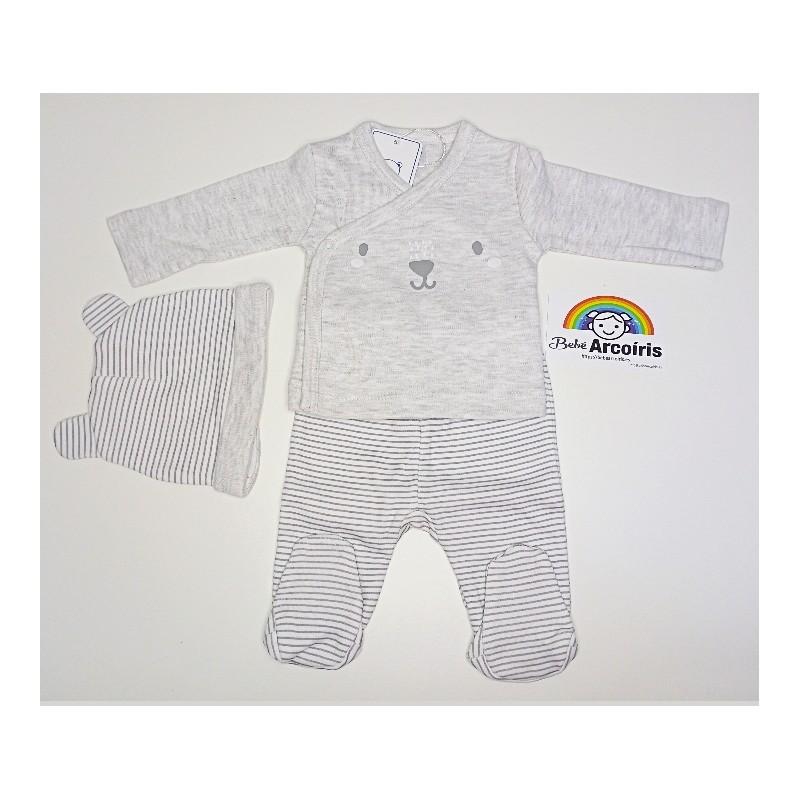 Primera puesta bebé algodón