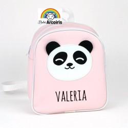 Mochila infantil personalizada Panda rosa