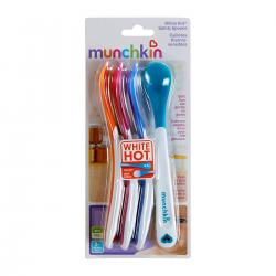 Pack cucharas y tenedores aprendizaje multicolor Munchkin