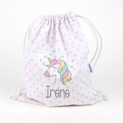petate personalizado unicornio