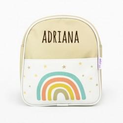 Mochila infantil personalizada Arcoíris
