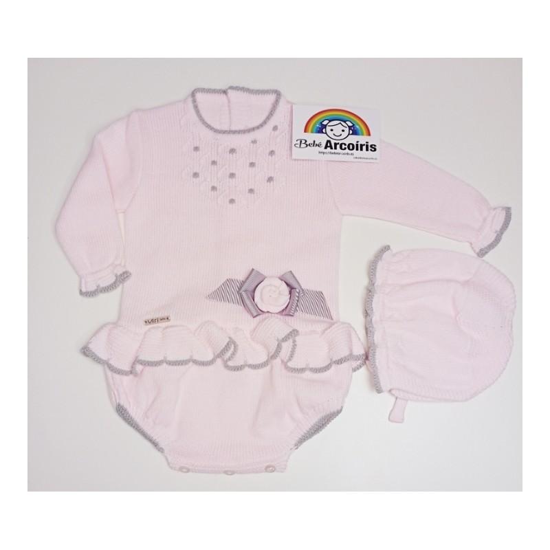 Pelele bebé lana