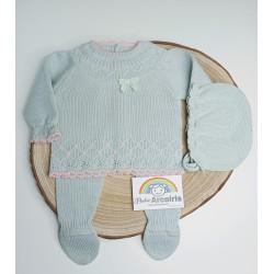 Primera puesta bebé lana