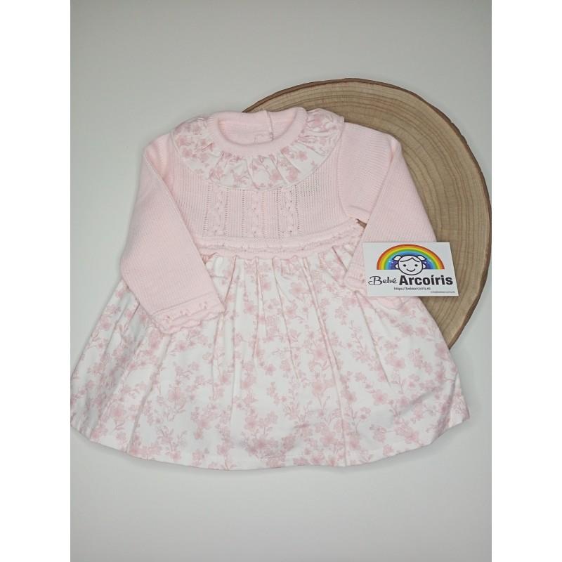 Vestido bebé lana